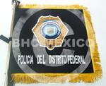 Guión bordado Policía del D.F.