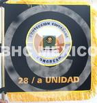Guión bordado Protección Civil 28/a Unidad