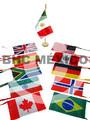 Banderas para escritorio varios paises