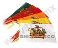 Banderas para escritorio sublimadas