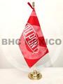 Bandera escritorio logo Dupont impresa en sublimacion