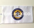 Bandera escritorio logo PHTLS impreso en sublimacion