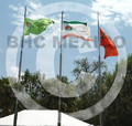Banderas en Club Campestre de Aguascalientes