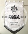 Estandarte Policia Federal bordado