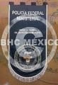 Estandarte de la Policía Federal Ministerial bordado 80x150 cm.